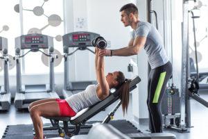 Klub fitness - trening personalny